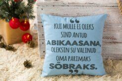 Jõulud014a // padi abikaasale