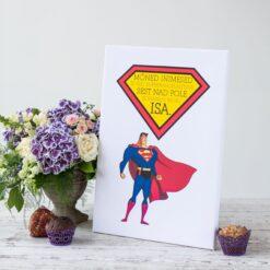 262 // Superkangelane - tahvel lõuendil