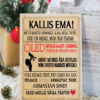 Jõulud029 // kallis ema puitalusel