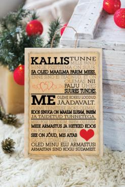 Jõulud021 // kallis puitalusel