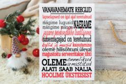 Jõulud008 // vanavanemate reeglid lõuendil