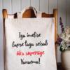 Superäge Vanaema // Poekott