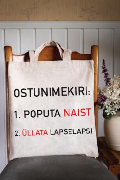 Vanaisa ostunimekiri // Poekott